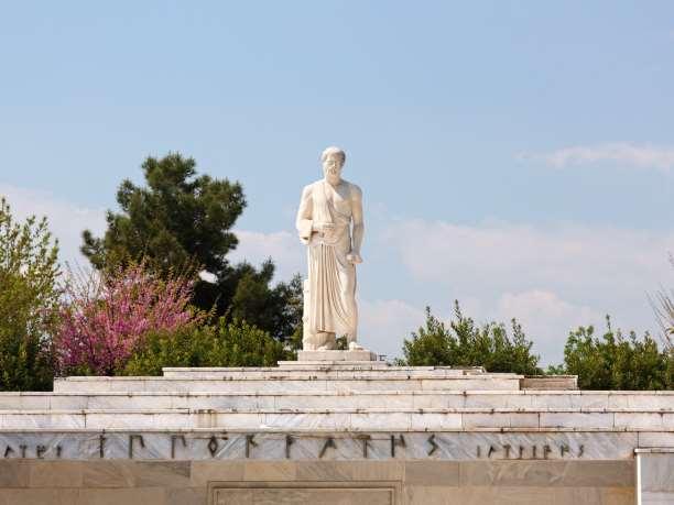 Το μνημείο του Ιπποκράτη στη Λάρισσα