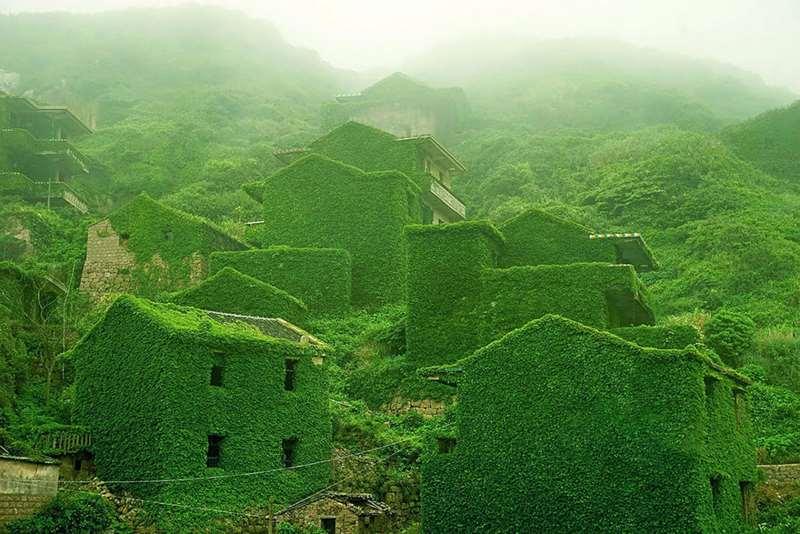 χωριο πρασινο φυση