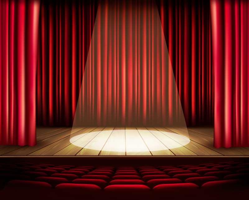 Φωτογραφία σκηνής θεάτρου για τεστ της Εναλλακτικής Δράσης