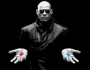 Το τεστ του Μάτριξ: Εσείς θα διαλέγατε το μπλε ή το κόκκινο χάπι;