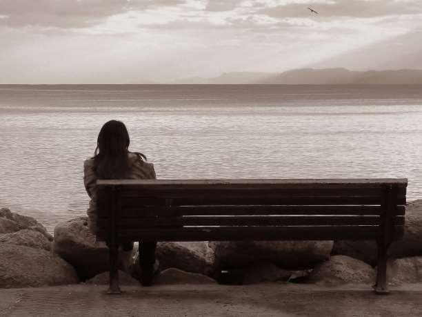 παγκάκι άνθρωποι θλίψη συναισθήματα