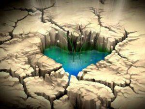 καρδια λιμνη σουρεάλ