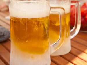 κρύα μπύρα