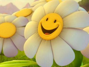 Γέλιο - Χαμόγελο - λουλούδια