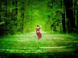 όνειρα γυναίκα δάσος
