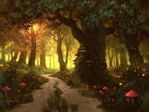 δάσος μαγικό
