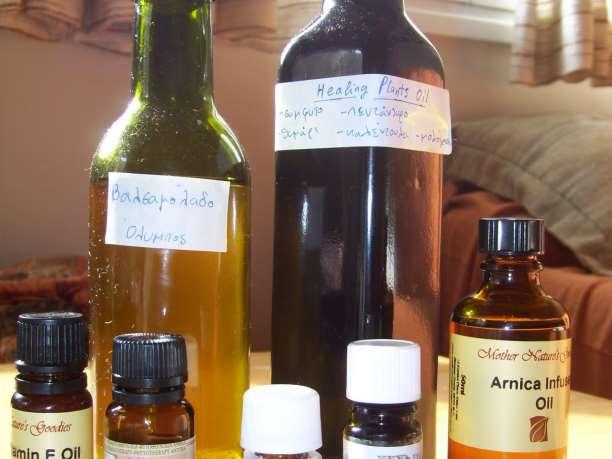 Συνταγή: Θεραπευτικό Λάδι για μυικούς και νευρικούς πόνους και παθήσεις