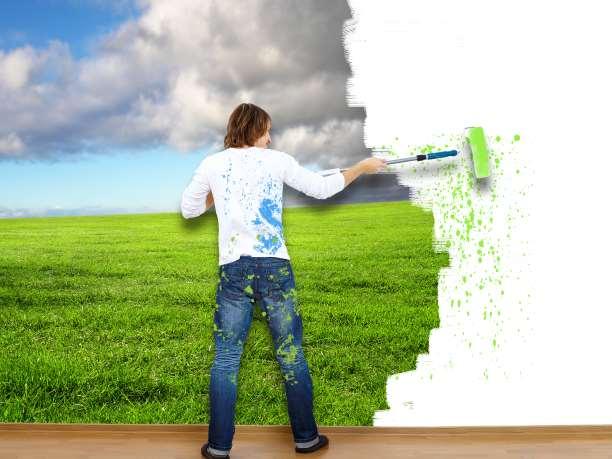 όνειρο μεταμόρφωση αισιοδοξία τέχνη βάψιμο άνθρωπος