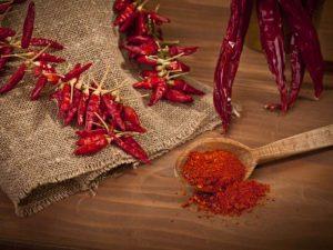 καγιέν καυτερές πιπεριές