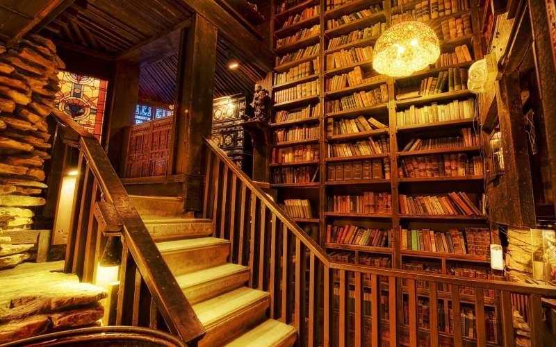 Σε ένα παλιό βιβλιοπωλείο