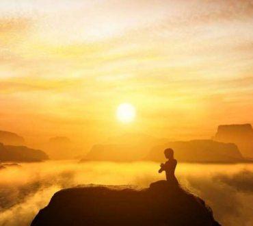 Για να πετύχουμε την παγκόσμια ειρήνη πρέπει να ξεκινήσουμε από μέσα μας