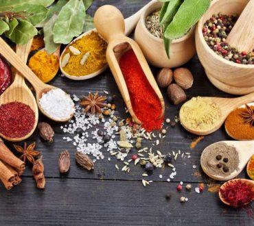 Πολύτιμα αρωματικά βότανα και καρυκεύματα