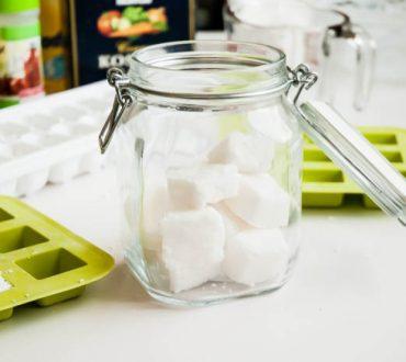 Φτιάξτε μόνοι σας ταμπλέτες πλυντηρίου πιάτων με φυσικά υλικά