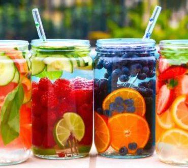 Αρωματικό νερό με φρούτα για μείωση βάρους, απομάκρυνση τοξινών και λιγότερες φλεγμονές