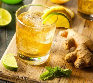 Χυμός τζίντζερ με λεμόνι για να εξαφανίσετε το φούσκωμα στην κοιλιά
