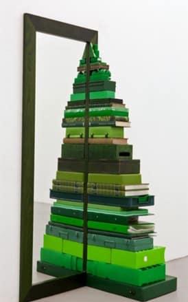 Προτάσεις για εναλλακτικά χριστουγεννιάτικα δέντρα (φωτογραφίες)