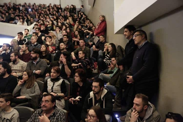 Κωνσταντίνος Δασκαλάκης εντυπωσιάζει το κοινό του ΑΠΘ