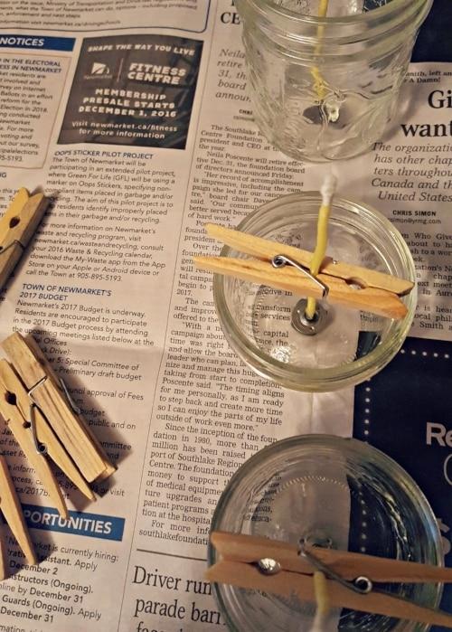 Φτιάξτε τα δικά σας φυσικά κεριά από κερί μέλλισσας!