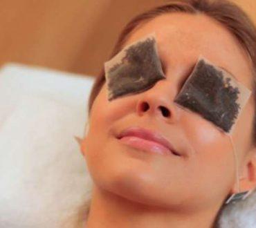 Πώς χρησιμοποιούμε τα φακελάκια του τσαγιού στα μάτια μας