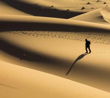 Όταν κάνουμε ένα βήμα πέρα από το φόβο, μπορούμε να ενστερνιστούμε το δρόμο του φωτεινού πολεμιστή