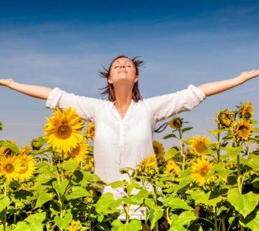 Κάθε αναπνοή είναι και μια θετική σκέψη