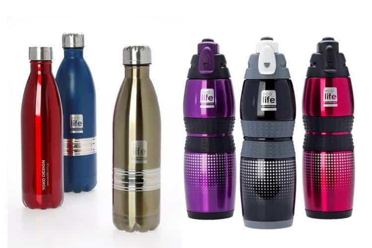 Μπουκάλια και θερμός της Lifegreen Ecolife