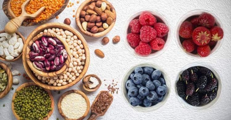 8 υγιεινές τροφές πλούσιες σε μαγγάνιο
