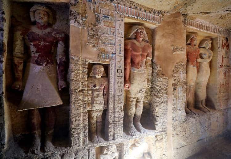 Αίγυπτος: Αρχαιολόγοι ανακάλυψαν εντυπωσιακό τάφο 4.400 χρόνων (φωτογραφίες)