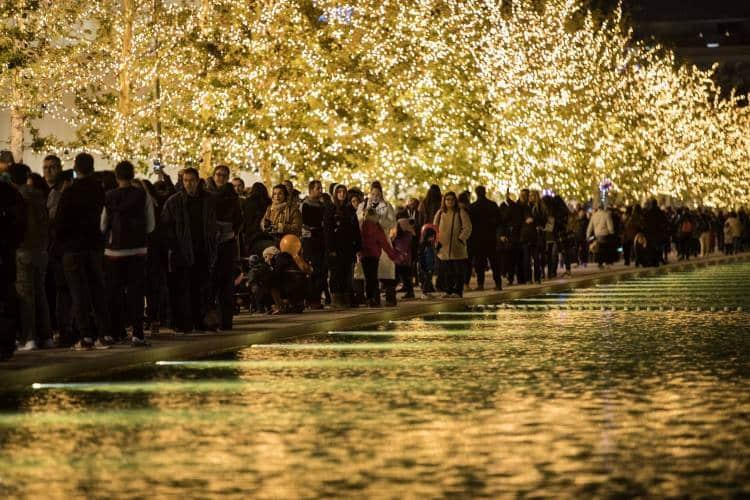 Το ίδρυμα Σταύρος Νιάρχος υποδέχτηκε τα Χριστούγεννα με ένα μαγευτικό γιορτινό σκηνικό (φωτογραφίες)