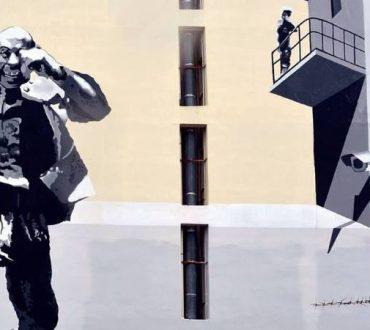 Πάτρα: Η πόλη τιμά τον Θανάση Βέγγο με ένα γιγαντιαίο γκράφιτι