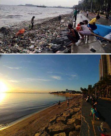 «Trashtag Challenge»: Η νέα διαδικτυακή πρόκληση που κάνει καλό στον πλανήτη μας (φωτογραφίες)