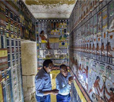 Αίγυπτος: Αρχαιολόγοι ανακάλυψαν έναν εντυπωσιακά καλοδιατηρημένο τάφο 4.000 ετών (φωτογραφίες)