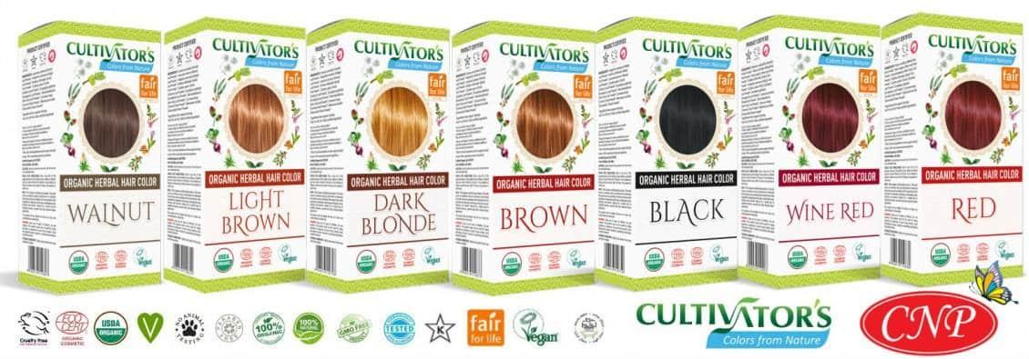 Οι Κορυφαίες βιολογικές βαφές μαλλιών CULTIVATOR έφτασαν στην Ελλάδα!