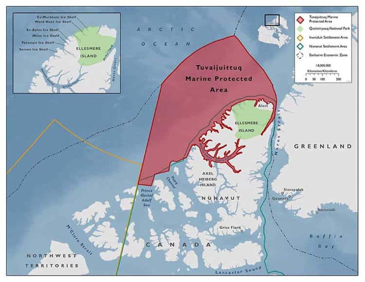 Καθώς οι πάγοι λιώνουν στην Αρκτική, ο Καναδάς προσπαθεί να προστατεύσει τους τελευταίους παγετώνες