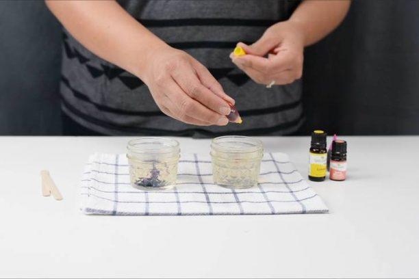 7 βήματα για να φτιάξουμε το δικό μας αρωματικό τζελ χώρου με αιθέρια έλαια