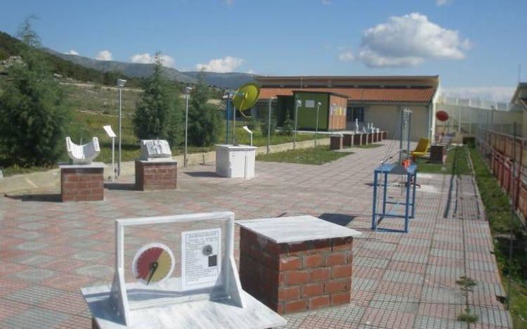 Το μοναδικό ελληνικό σχολείο που έχει αστρονομικό παρατηρητήριο και πάρκο ηλιακών ρολογιών βρίσκεται στη Δράμα