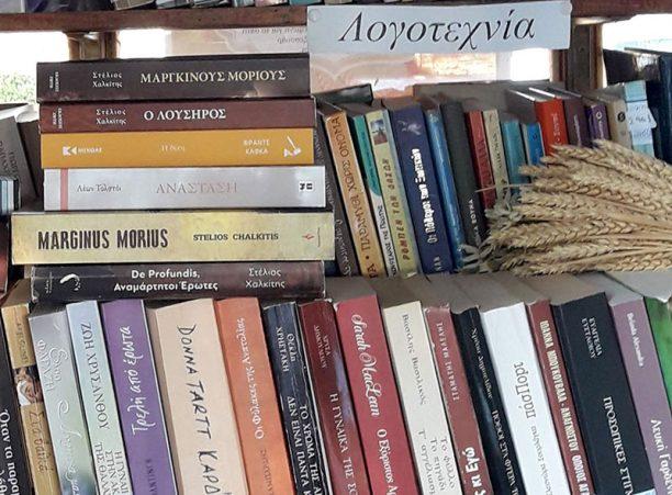 Περίπτερο στη Μεσσηνία μετατράπηκε σε δανειστική βιβλιοθήκη για τους κατοίκους