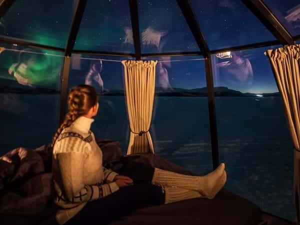 Το βορειότερο ξενοδοχείο στον κόσμο θα αποτελείται από γυάλινα ιγκλού με θέα το Βόρειο Σέλας