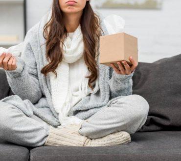 6 λάθη που επιδεινώνουν τα συμπτώματα του κρυολογήματος