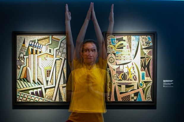 Η τέχνη συναντά την γιόγκα – Το μουσείο Γουλανδρή ξεκινά μαθήματα ανάμεσα σε γλυπτά και πίνακες