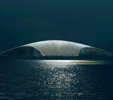 The Whale: Το νέο αρχιτεκτόνημα της Νορβηγίας στον Αρκτικό Κύκλο θα μοιάζει με αναδυόμενη φάλαινα