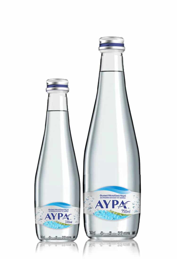 Ανθρακούχο Φυσικό Μεταλλικό Νερό ΑΥΡΑ: Απόλαυσε τα δικά σου sparkling moments, κάθε μέρα!