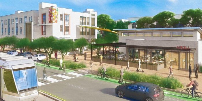 Αρχιτέκτονες δημιουργούν την πρώτη κοινότητα χωρίς αυτοκίνητα στην Αριζόνα των ΗΠΑ