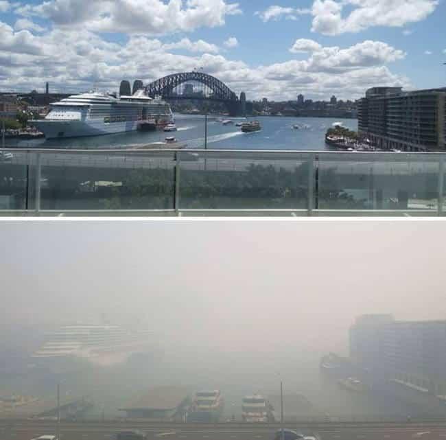 Φωτογραφίες αποκαλύπτουν το μέγεθος της καταστροφής που προκάλεσαν οι πυρκαγιές στην Αυστραλία
