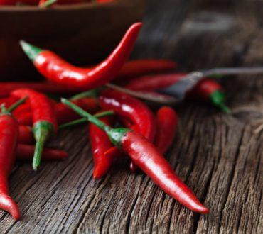 Η καυτερή πιπεριά προλαμβάνει κατά του καρδιακού εμφράγματος και του εγκεφαλικού επεισοδίου