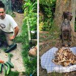 Vegan «κυνηγοί» ποζάρουν μπροστά από… τη λεία τους (photos)!