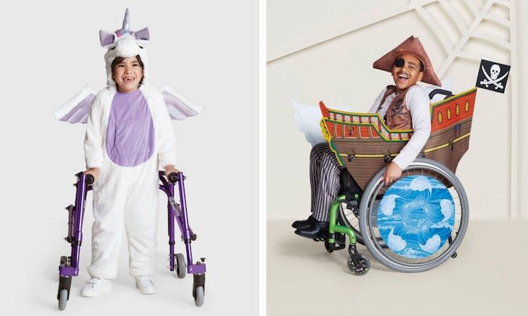 Κατάστημα δημιούργησε αποκριάτικες στολές για παιδιά με ειδικές ικανότητες