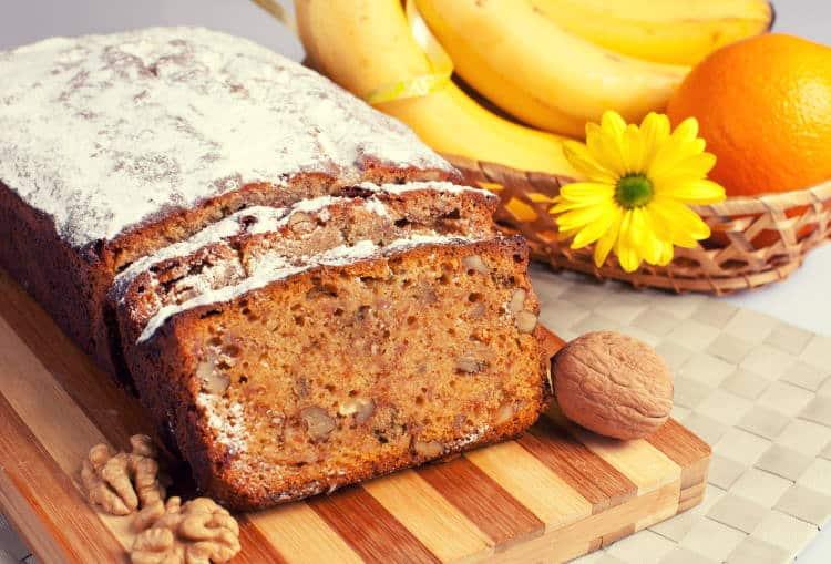 Συνταγή: Ψωμί μπανάνας με χαμηλή περιεκτικότητα σε υδατάνθρακες