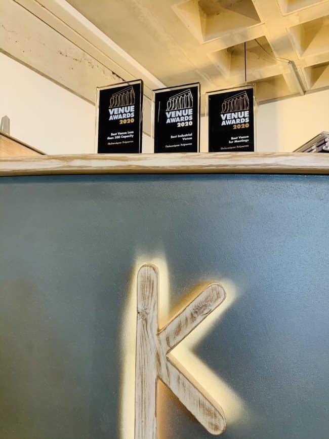 Venue Awards 2020: Διάκριση του Πολυχώρου Χείρωνα με 3 βραβεία!
