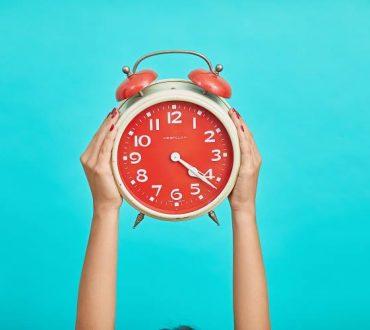 8 τρόποι να βελτιώσουμε την προσωπική αίσθηση του χρόνου